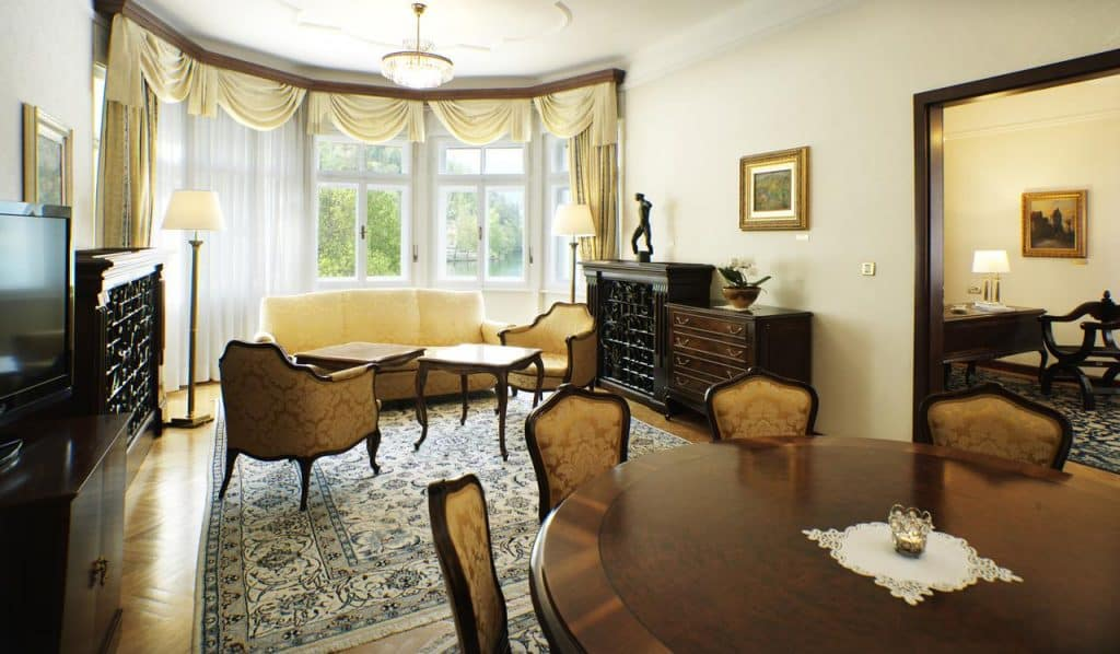 Lake Bled wedding accommodation at Hotel Toplice, large room