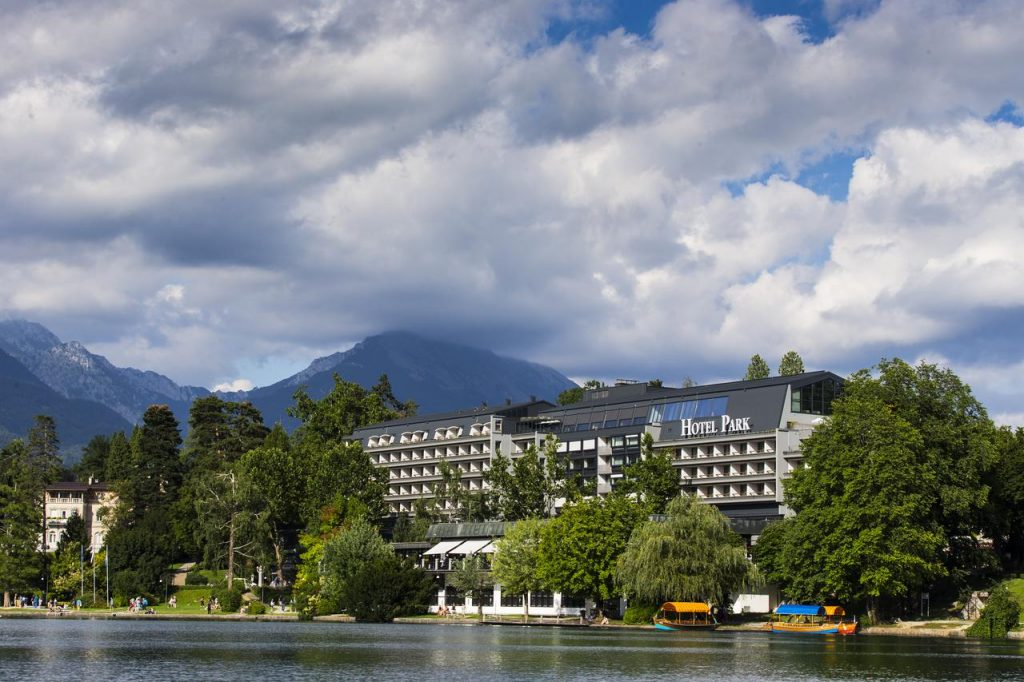Hotel Park from Lake Bled wedding accommodation