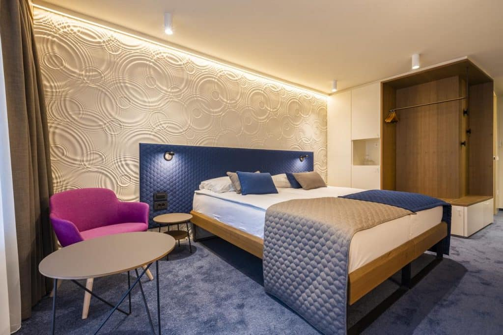 Hotel Park room from the Lake Bled wedding accommodation offer