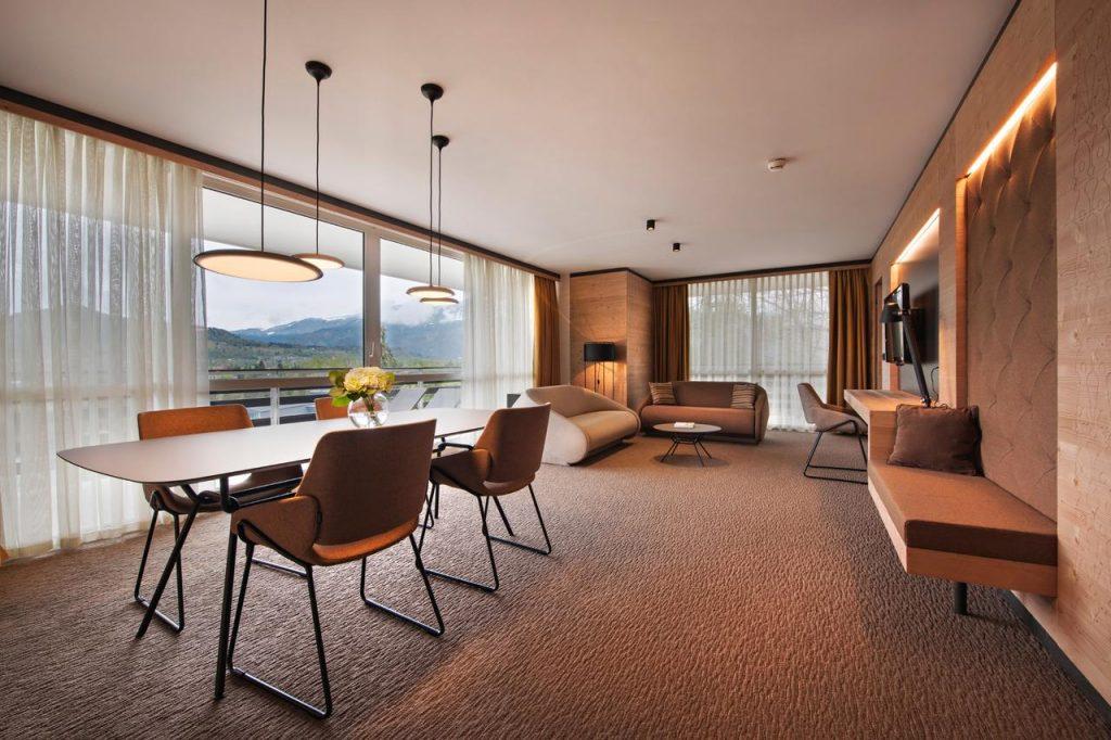 Lake Bled wedding accommodation Rikli Balance large room