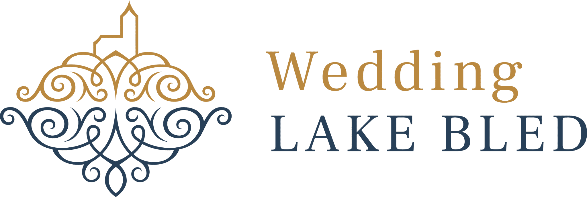 Lake Bled Wedding Logo