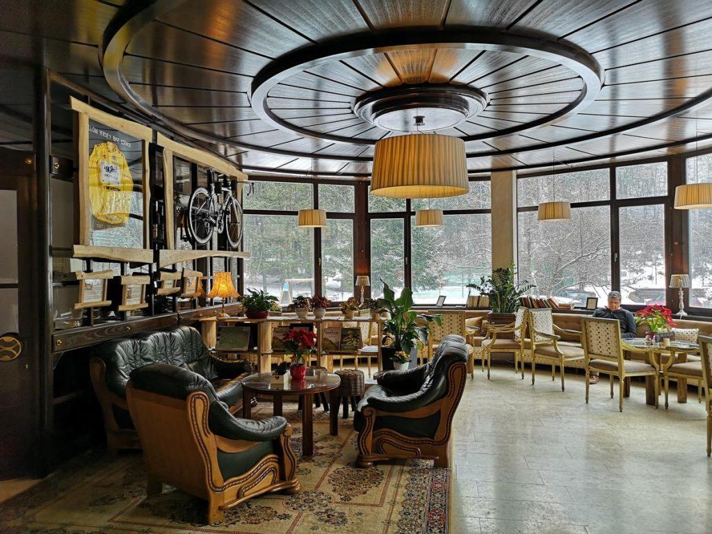 Hotel Ribno Bled lobby