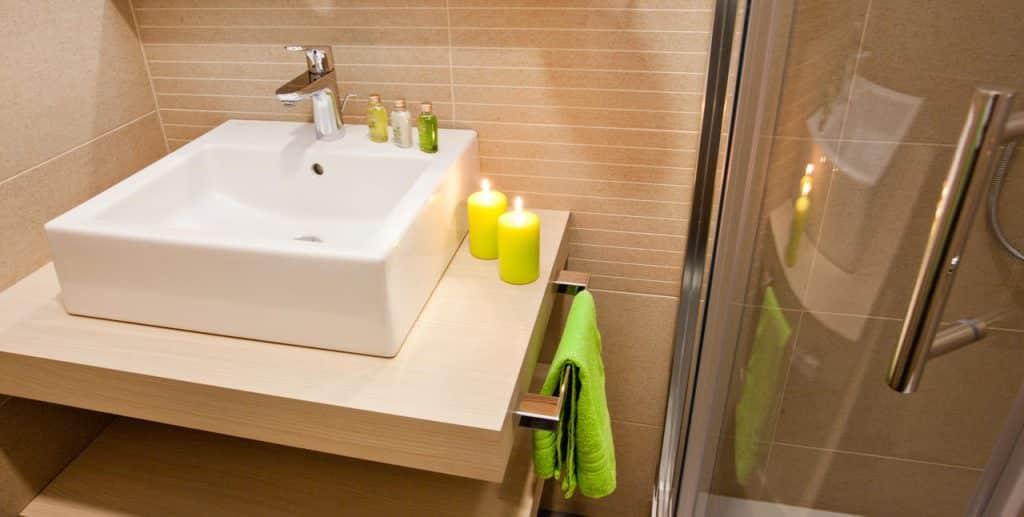 Hotel Astoria Bled bathroom