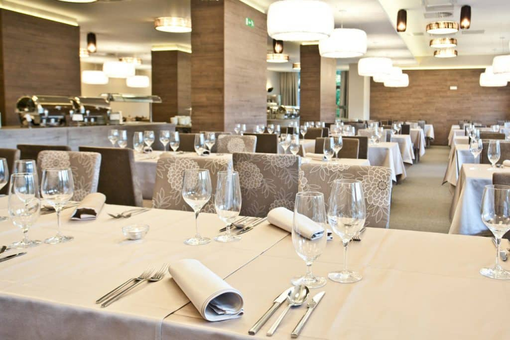 Hotel Astoria Bled dinning area