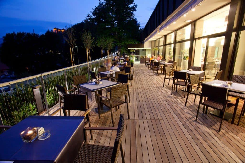 Hotel Astoria Bled terrace