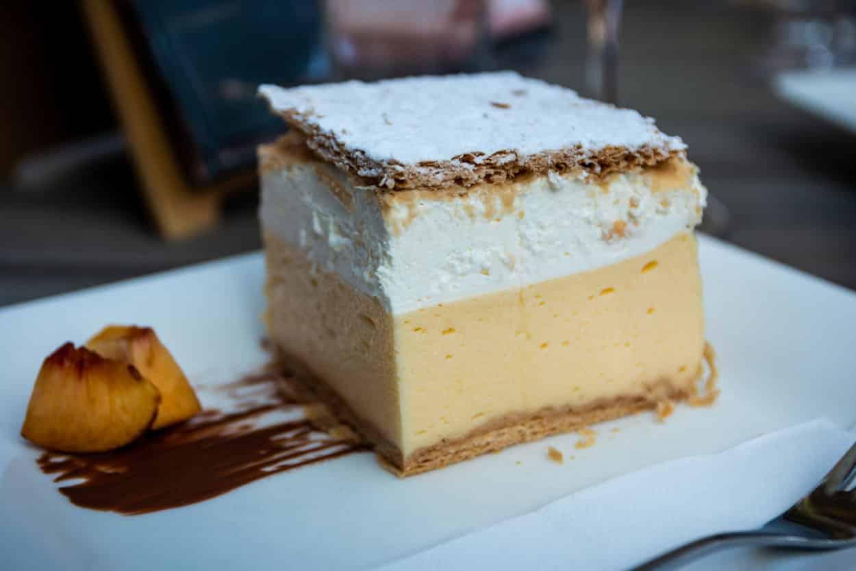 Bled famous dessert called