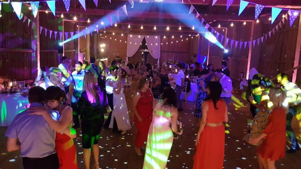 Guests dancing at Lake Bled Wedding