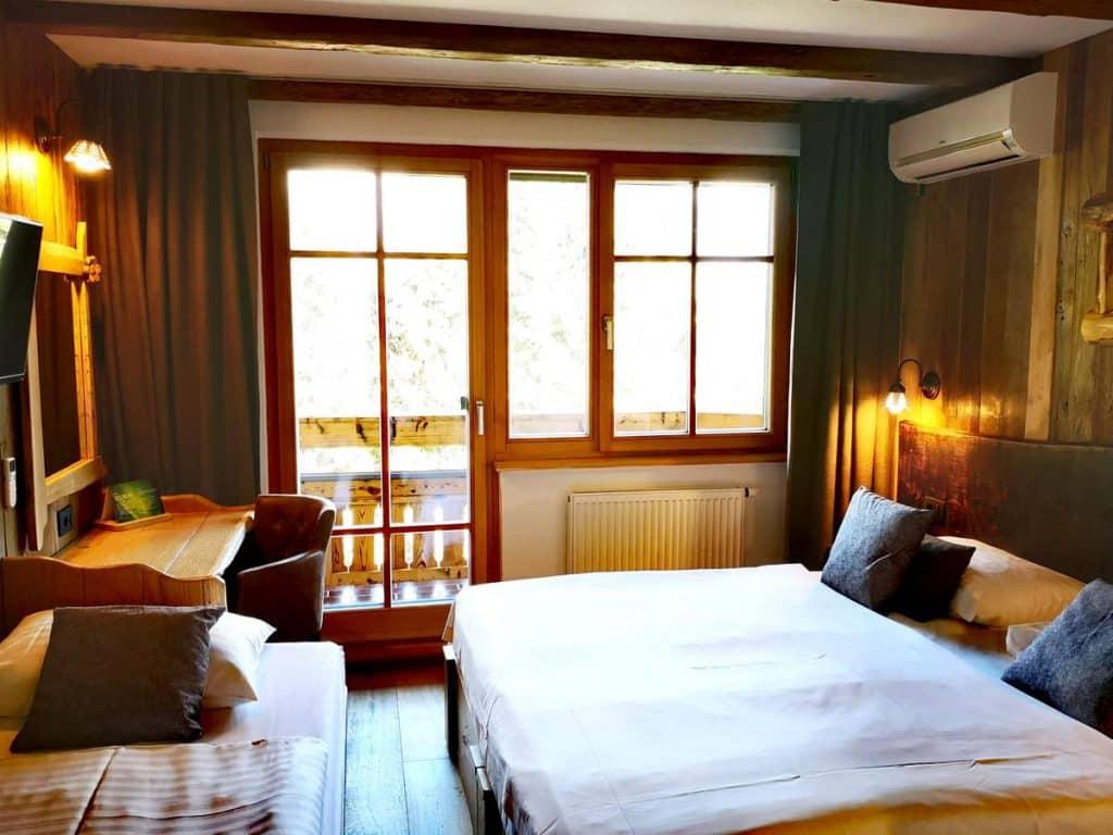 Hotel Ribno Bled bedroom