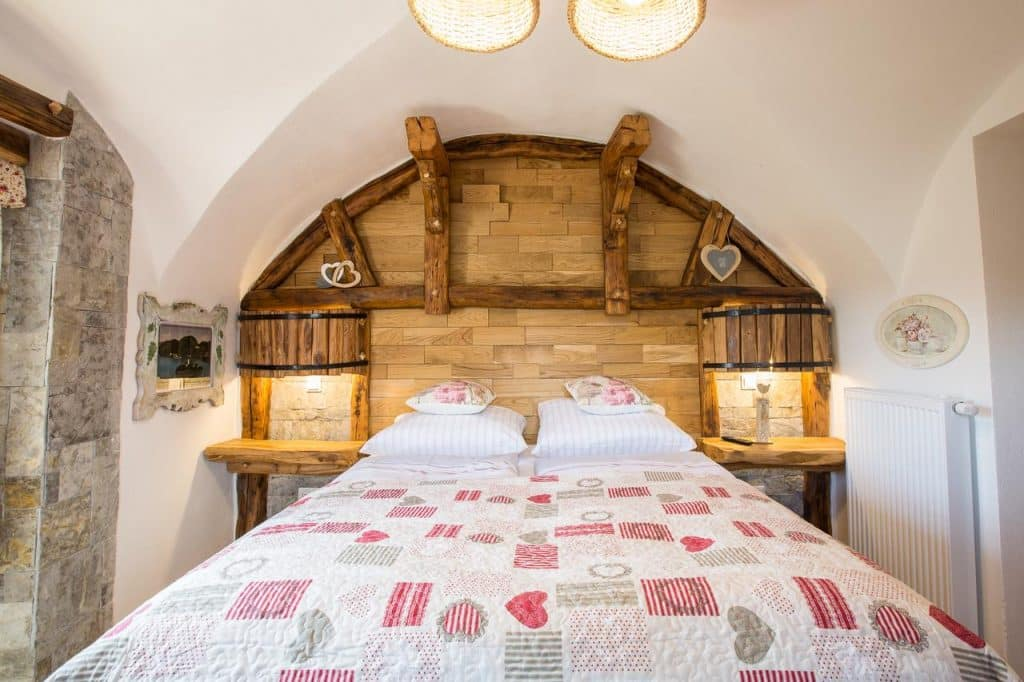 Old Bled house master bedroom