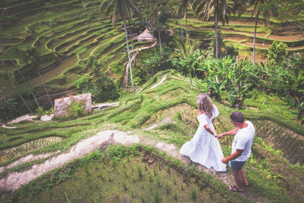 Future bride and groom in Bali