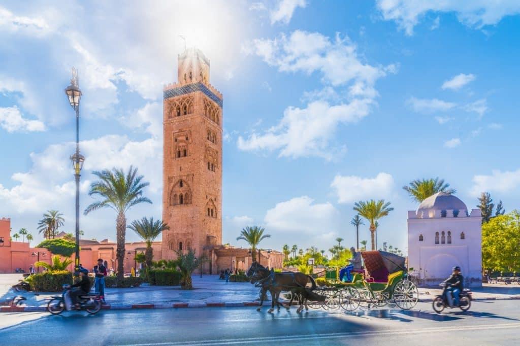 Medina quarter of Marrakesh, Morocco