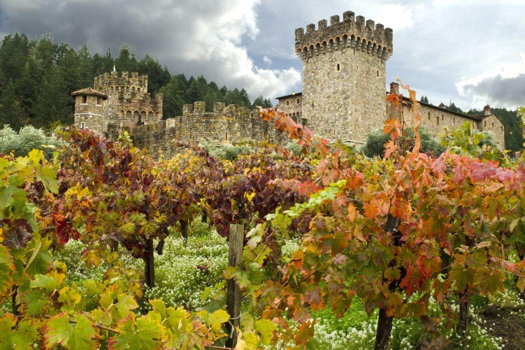Castle in Napa Valley California