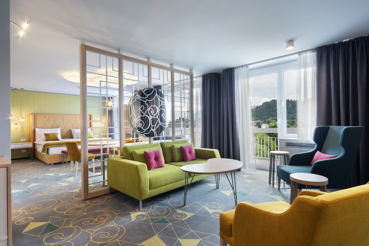 Bled Rose hotel room
