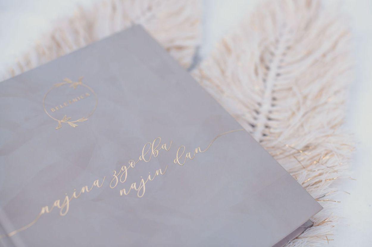 Book of wedding memories.